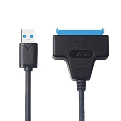 22 Pin SATA to USB3.0 Hard Drive HDD SSD Adapter SATA Converter Cable Newly