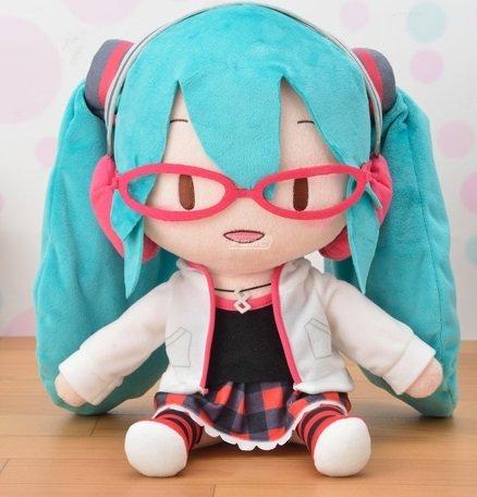 Hatsune Miku Project DIVA Arcade Future Tone Mega Jumbo Plush Natural Stuffed Toy