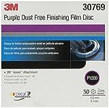 3M 30769 Hookit Purple 6'' P1000 Grit Dust-Free Finishing Film Disc