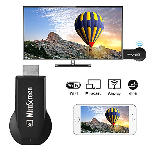 MiraScreen E5S WiFi Display Dongle Receiver HDMI TV Miracast DLNA Airplay Mirroring Media Streaming for IOS/Android/Windows/Mac AH359 by XCSOURCE (Image #1)
