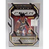 $124 » 2020-21 Panini Prizm NBA Basketball - 1 Autograph or Memorabilia Each Box - 6 Packs of 4 Cards Each