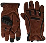 Bionic GDTN-M-P-BR-XL Men's Tough Pro with Natural Fit Premium Leather Glove, X-Large, Brown