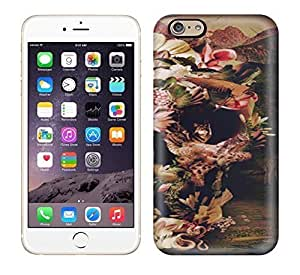 Best Power(Tm) HD Colorful Painted Watercolor Jungle Skull Hard Phone Case For Iphone 6