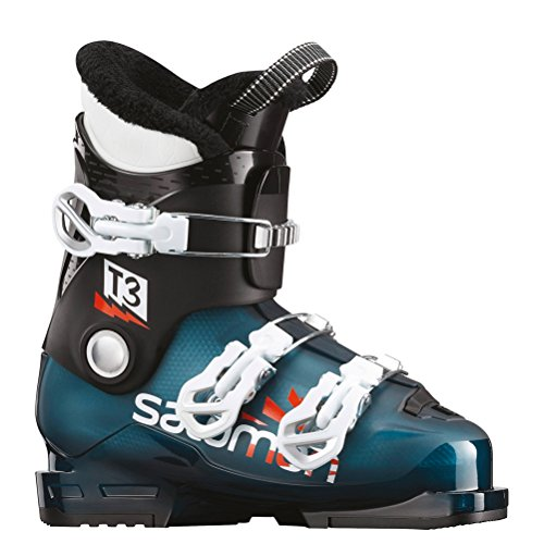 Salomon T3 RT Kids Ski Boots 2019-22.5/Maroccan (Salomon Kids Ski Boots)