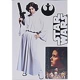 "Princess Leia Mini FATHEAD Star Wars Logo Officially Licensed Vinyl Wall Graphics 7"" INCH"