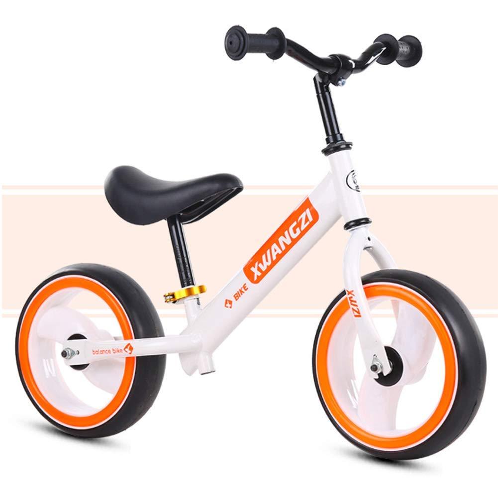 calidad fantástica 1-1 Bicis del Balance De Los Cabritos, Vespa Vespa Vespa De Dos Ruedas De Los Niños Ninguna Bicicleta del Pedal 12 Pulgadas Y Seguro Y Cómodo para Los Niños Pequeños,White  en linea