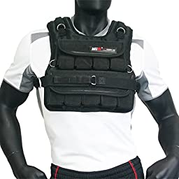 MIR - 30LBS SLIM ADJUSTABLE WEIGHTED VEST