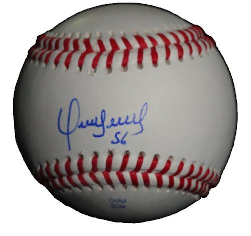 Franklin Morales Autographed / Signed ROLB Baseball, Kansas City Royals, 2015 World Series Champions, Proof Photo...