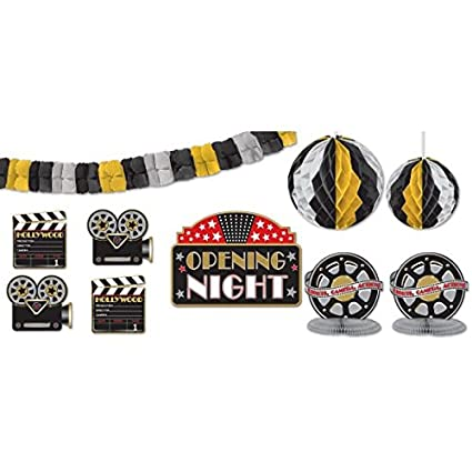 - Dropship 247895 Hollywood Party Decorating Kit TradeMart Inc