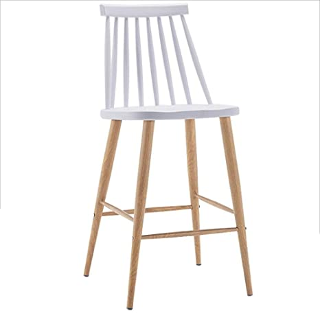 Cool Amazon Com Modern Simple Style Bar Stool Metal Cafe Stool Forskolin Free Trial Chair Design Images Forskolin Free Trialorg