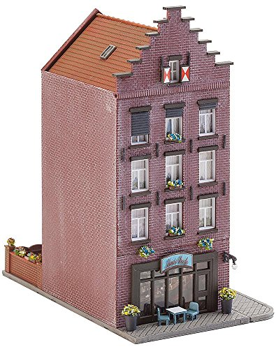 Faller 232334 Old Town House w/Bar N Scale Building - Old Townhouses