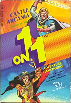 Book Castle Arcania (One-On-One Adventure Gamebooks) [2 BOOK SET]