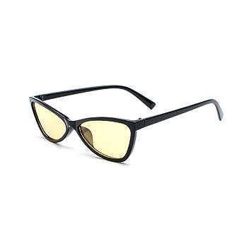BiuTeFang Gafas de Sol Mujer Hombre Polarizadas Pequeño ...