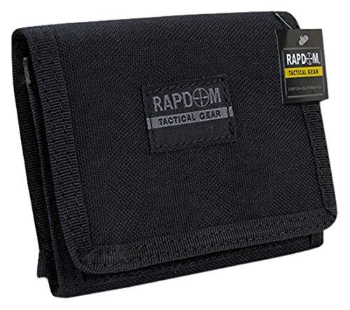 (RAPDOM Tactical Wallet, Black)
