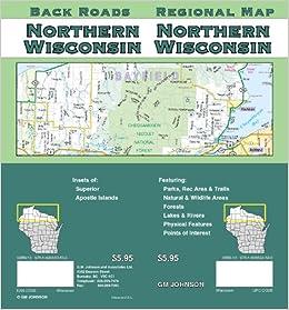 Northern Wisconsin Regional Map Gm Johnson Associates Ltd