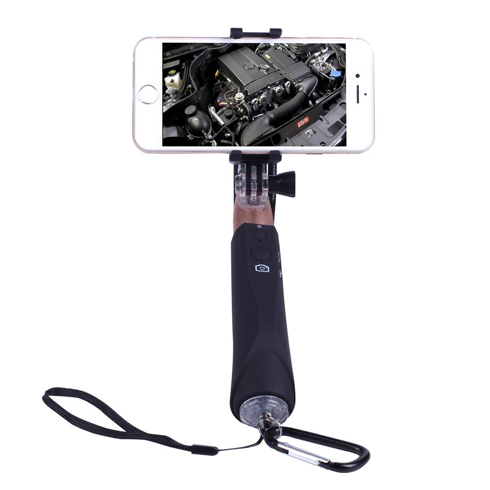 Endoscope for Phone, WiFi Endoscope with Selfie Stick for Android iOS Smartphone for General Auto Repair by VoguSaNa (Image #8)