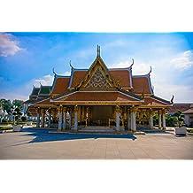 LAMINATED POSTER Thailand Temple Budda Poster Print 24 x 36