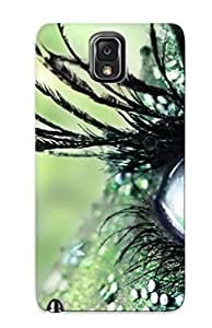 37c71ee4035 Faddish Green Eye Case Cover For Galaxy Note 3 With Design For Christmas Day's Gift