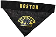 Pets First BRU-3217-S-M Boston Bruins Reversible Bandana, Small to Medium