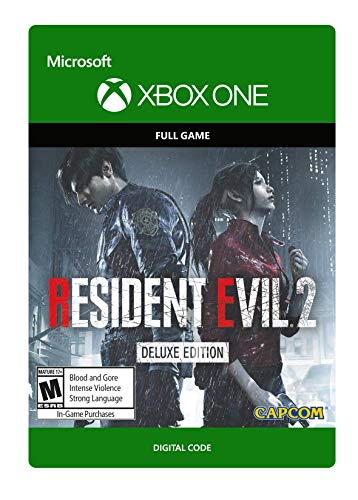 Resident Evil 2 Deluxe Edition  - Xbox One [Digital Code] (Resident Evil 1 Ps1)