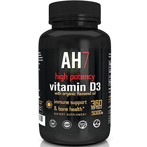 Vitamin 5000 360 Softgels Supplement