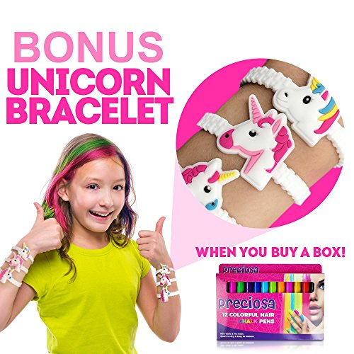 Hair Chalk Birthday Gifts for Girls + Bonus