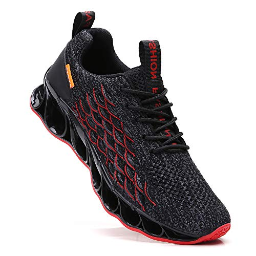 SKDOIUL Men Springblade Athletic Walking Shoes