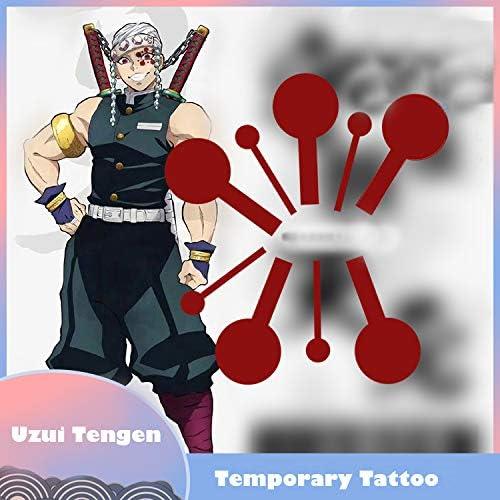 Amazon Com Xcostume Demon Slayer Tatuaje Uzui Tengen Cosplay Tatuajes Temporales Pegatina Anime Accesorios Toys Games Lucas who made me a princess edit. xcostume demon slayer tatuaje uzui