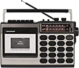 Crosley CT100A Retro Portable Cassette Player with...