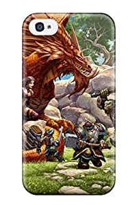 For QIrPNKQ999KTREF Everquest Next Protective Case Cover Skin/iphone 4/4s Case Cover