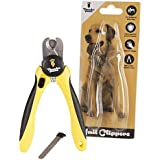 Thunderpaws Professional-Grade Dog Nail Clippers and Trimmers by with Protective Guard, Safety Lock and Nail File - Suitable for Medium and Large Breeds