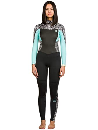 1a6a3c176c BILLABONG Ladies Synergy 3 2mm Back Zip Wetsuit in Geo Diamond Z43G03