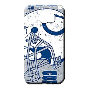 samsung galaxy s6 cover Durable High Quality phone case cell phone carrying skins indianapolis colts nfl football