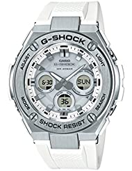 Casio GSTS310-7A White 55.9mm Stainless Steel G-Shock Mens Watch