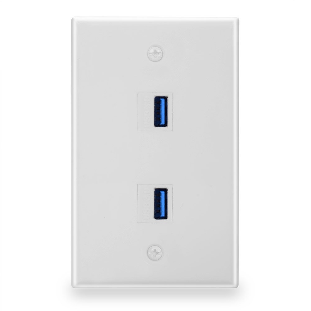 Amazon.com: batige 2-Port Dual USB 3.0 Cargador de pared ...