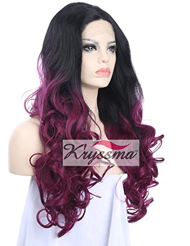 K'r (Black To Purple Hair)