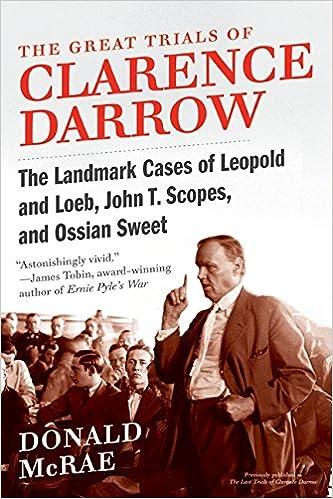 Clarence Darrow Leopold And Loeb