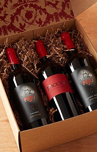 Peju Napa Valley Trio Wine Sampler Gift Set, 3 x 750 mL
