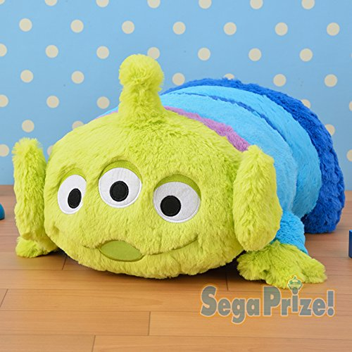 Sega Prize Toy Story Alien Me Drum Cushion Plush 16.5 inches