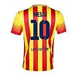 2013-14 Barcelona Away Shirt (Messi 10)