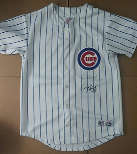 Kris Bryant Ernie Banks Youth Autographed Jersey with Certificate of (Ernie Banks Autographed Jersey)
