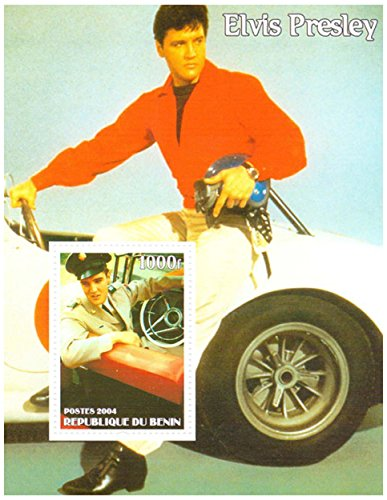 Elvis Presley stamps - Elvis in army uni - Elvis Presley Car Shopping Results