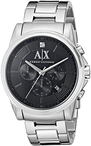 Armani Exchange Men's AX2504 Silver Watch -