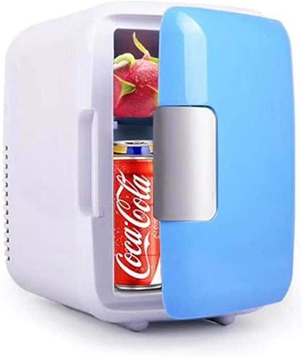 WRJY Nevera compacta de 4L, Mini refrigerador con ...