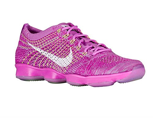 Nike Zoom Fit Agility - Zapatillas Mujer 500-FCHS GLOW WHITE FCHS FLASH VOLT