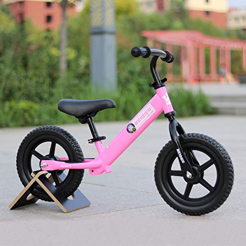 2 Pack, Children Two Wheels Balance Bike Kids Scooter Baby Walker 2-7 Years Balance Bike Ride On Toys Gift for Baby Toys,Pink