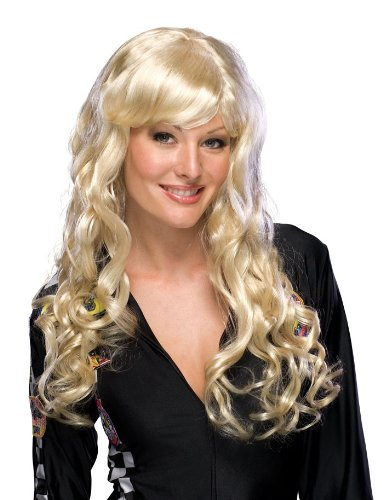 Rubie's Costume Blond Hollywood Starlet Wig, Yellow, One Size