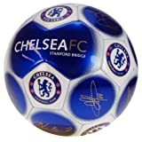 Chelsea F.C. Football Signature - Official licensed football club soccer ball