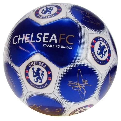 Chelsea F.C. Football Signature - Official licensed football club soccer ball by medium shop