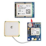 GY-GPS6MV1 NEO-6M GPS Module with EEPROM + GPS Ceramic Antenna for Particle Photon Arduino Ublox GPS ArduPilot FPV Aircraft OSD Flight Control Geekstory